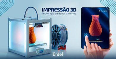 Impressão 3D – Tecnologia a favor da forma.