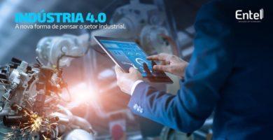 Indústria 4.0 – Nova forma de pensar o setor industrial.